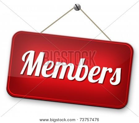 restricted area, members only membership required