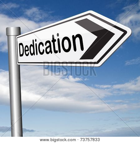 dedication dedicate yourself motivation and attitude motivate self for a job letter a talk or task yes we can think positive go for it  poster