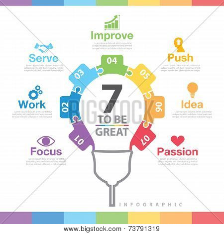7 To Be Great Infographic
