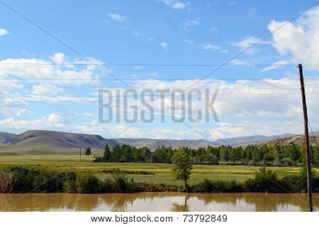 mountains of Altai