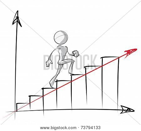Simple People - Steady Growth Chart
