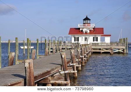 Roanoke Marshes Lighthouse, USA