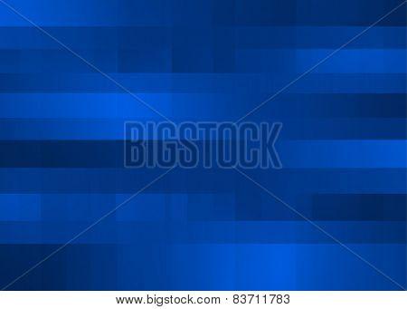 Blue Mega Pixels Background
