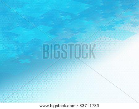 Positive Blue Healthcare Bkg