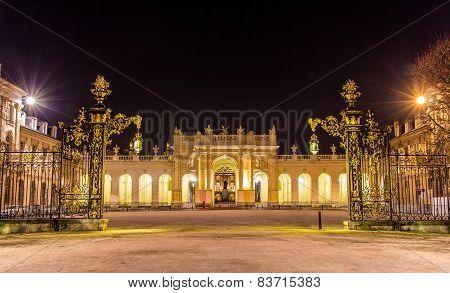 Arc Here As Seen From Place De La Carriere - Nancy, Lorraine, France