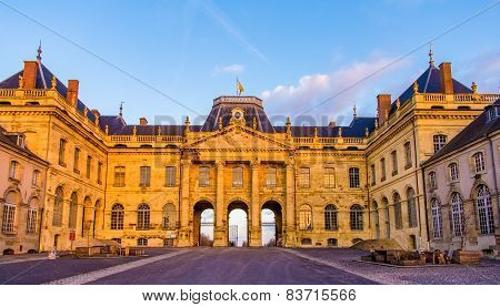 The Castle Of Luneville In The Evening - Lorraine, France