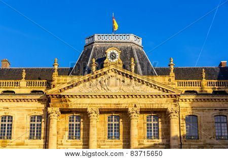 Facade Of The Luneville Castle - Lorraine, France