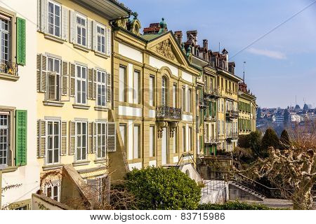 The Frisching-haus In The Old City Of Bern - Switzerland
