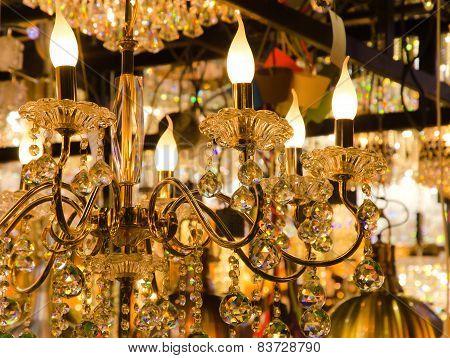Beautiful Vintage Lighting Decor.