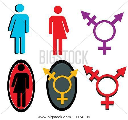 Transgender Icon Set