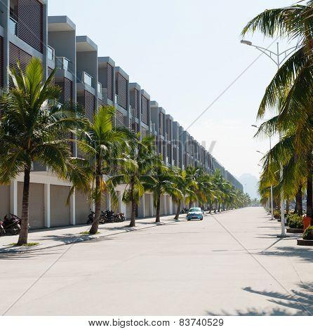 Halong City Port Alley Vietnam