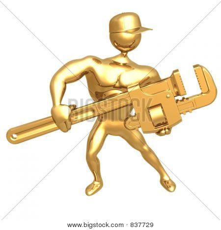 Hold Pipe Wrench