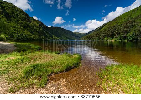 Upper Lake In Glendalough