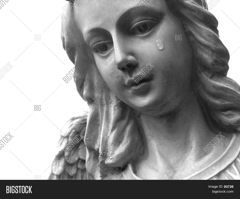 Ange Qui Pleure image et photo de ange qui pleure (essai gratuit)   bigstock