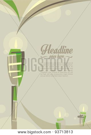 Vector of islamic festival greetings