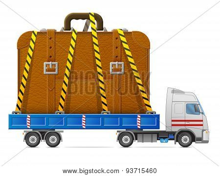 Road Transportation Of Suitcase