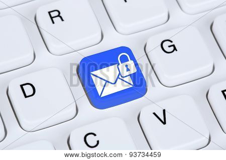 Sending Encrypted E-mail Protection Secure Mail Via Internet