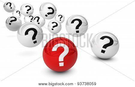 Question Mark And Questions Concept