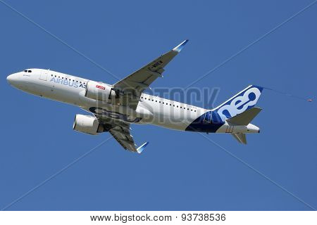 Airbus A320Neo Airplane Toulouse Airport