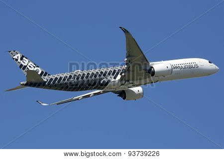 Airbus A350 Airplane Toulouse Airport