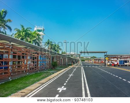 Cartagena Airport Airstrip Exterior View