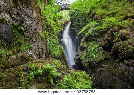 Aria Force Falls in Lake District National Park poster
