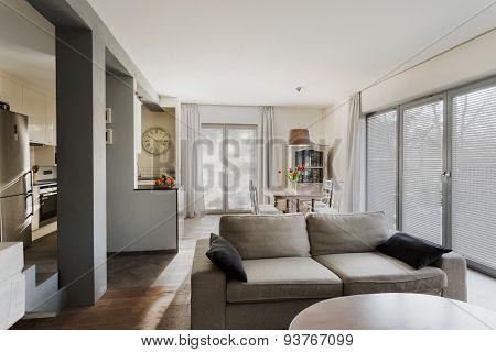 Stylish Lounge And Dining Hall