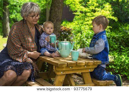 Tea Time With Grandmother