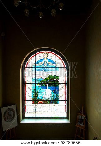 Stained glass from Kinderman.