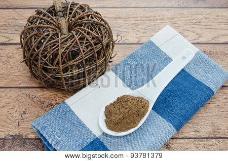 Healthy Reishi Mushroom Powder