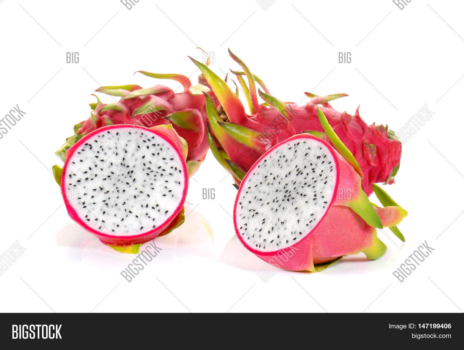 how to cut dragon fruit raw