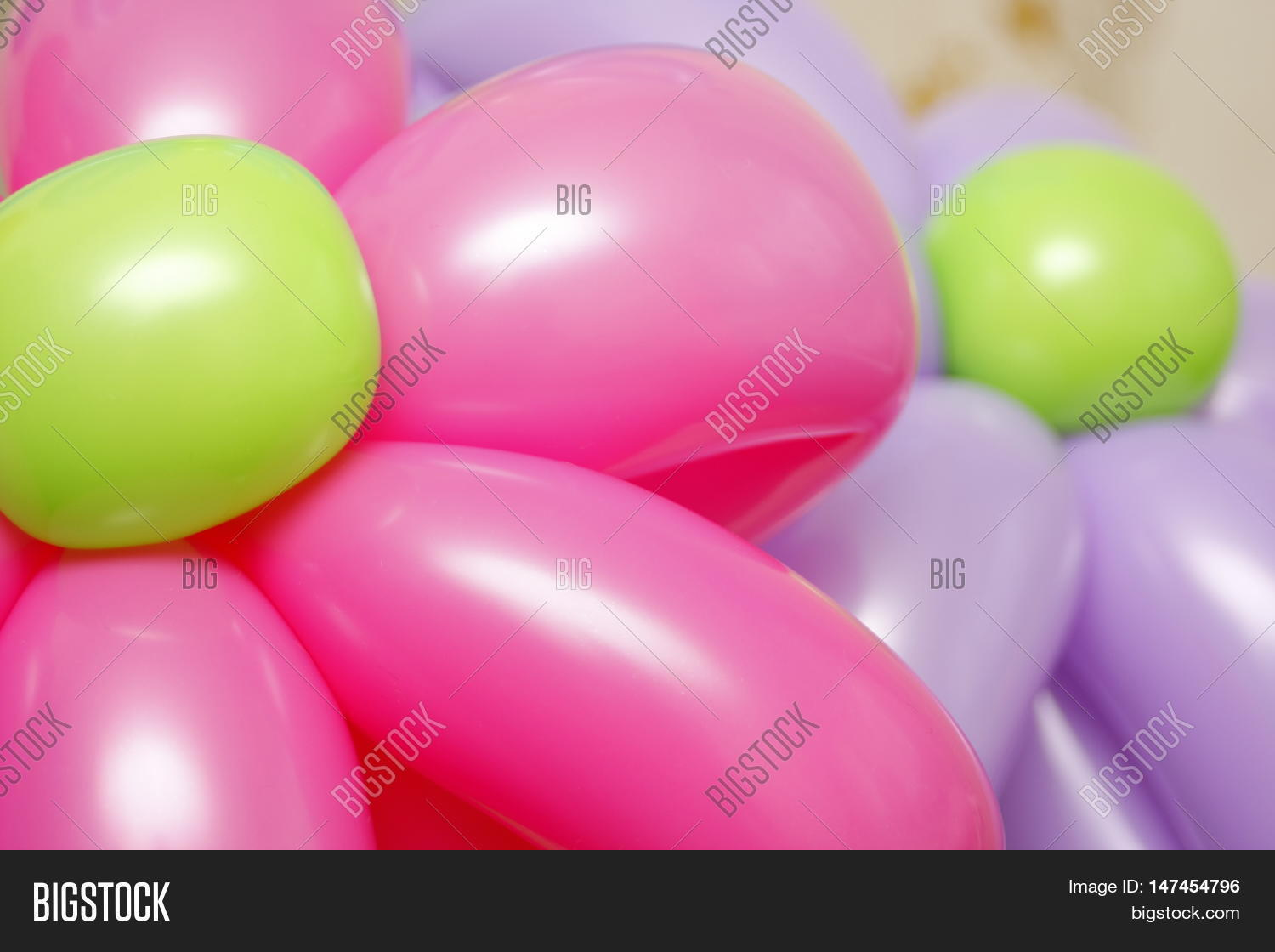 Balloon Flowers Latex Colored Twisting Balloons Party Colorful Childrens Fancy