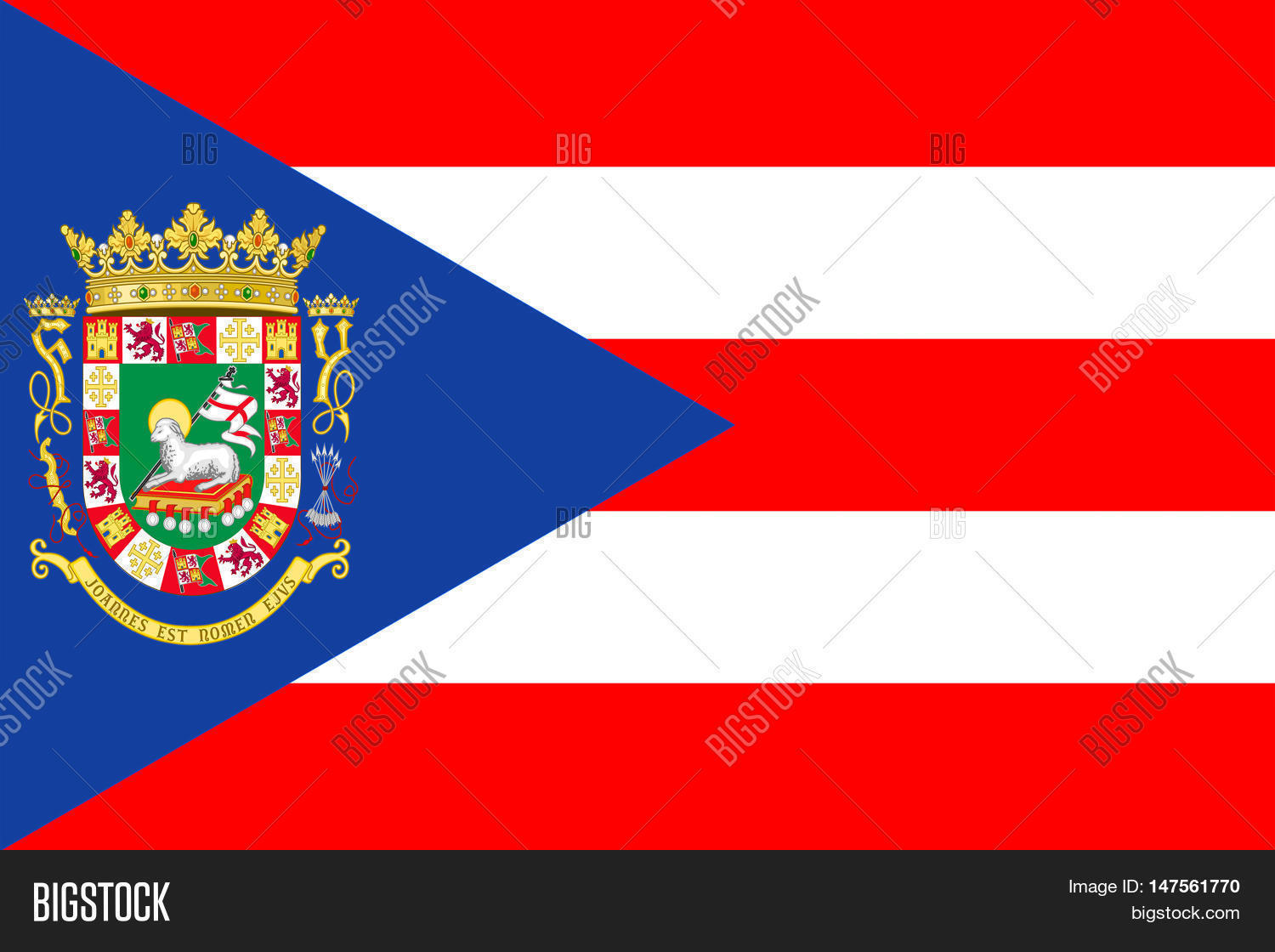 Flag Puerto Rico State Image & Photo (Free Trial) | Bigstock