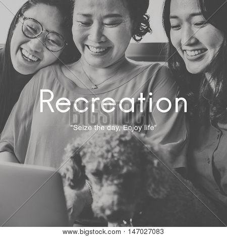 Recreation Hobbies Leisure Pastime Activity Concept poster