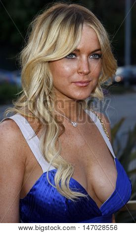 Lindsay Lohan at the LG Electronics' (LG) Launch of the