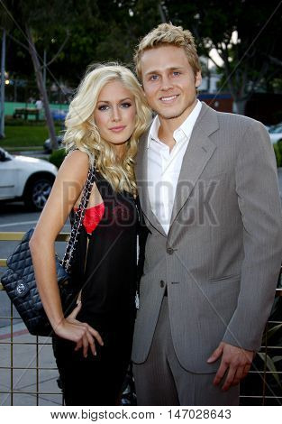 Spencer Pratt and Heidi Montag at the LG Electronics' (LG) Launch of the