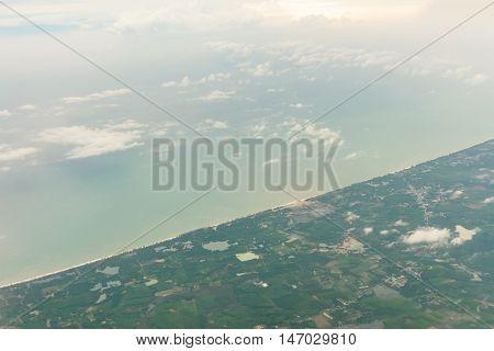 Bounty Island Aerial View Andaman Sea - Phuket Thailand