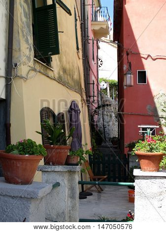 Streets And Alleys Of Portovenere D