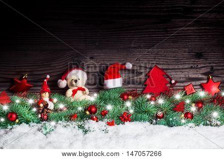 Christmas decoration, a Christmas Teddy Bear, Imp