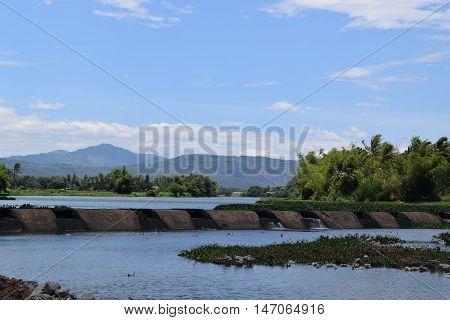 Spillway Or Retaining Dam