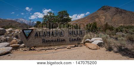 Alabama Hills Recreation Lands