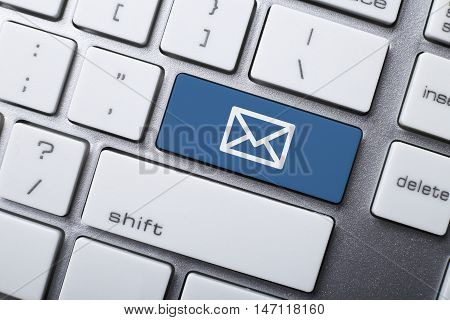 Email Symbol On The Keyboard