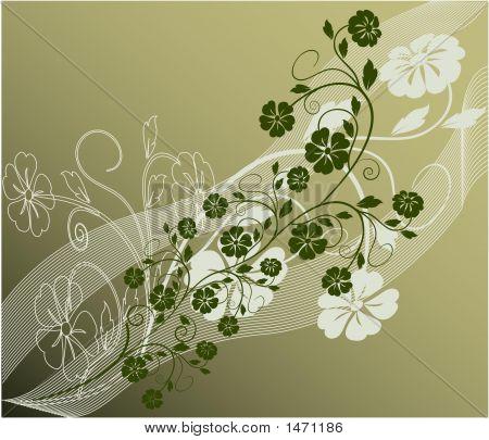 Floral Background Vektor