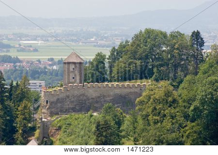 Tower And Battlement
