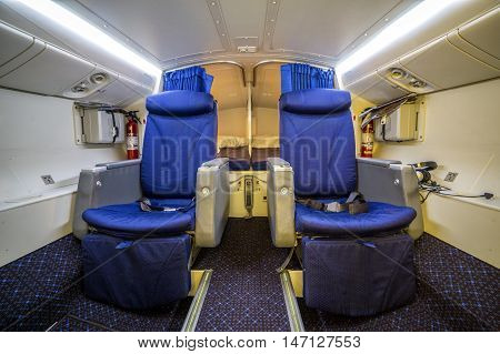 Luxury Cabin For Pilot And Copilot