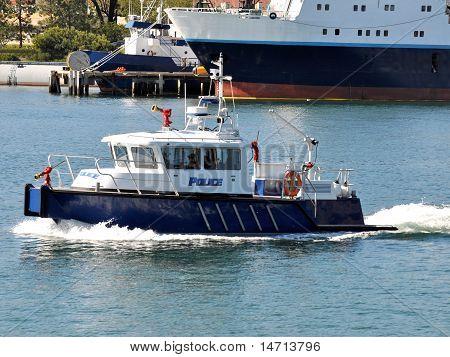 Polizei Feuer Boot