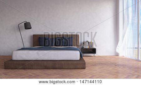 3Ds Rendered Image Of Seaside Room