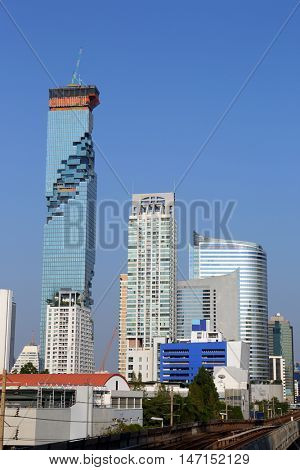 modern houses in Bangkok, Thailand