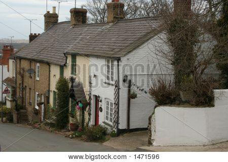 Sloping Village Street