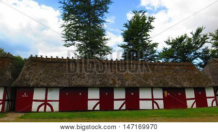 Thatched And Half Timbered Stables
